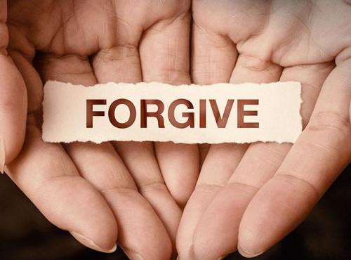 진정한 용서란 무엇인가.