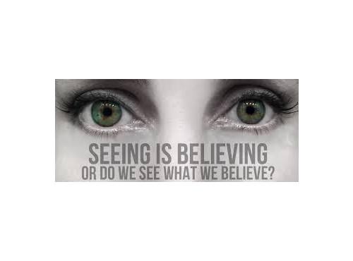 사람은 보고싶은 대로 보고, 듣고 싶은 대로 듣고, 믿고 싶은 대로 믿는다.